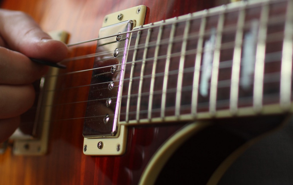 Solo E-Gitarre Gitarre