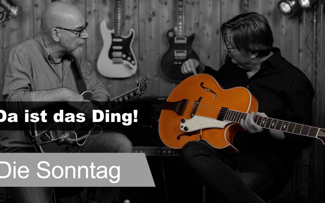 Sonntag Archtop Jazz Gitarre: Wie klingt sie?