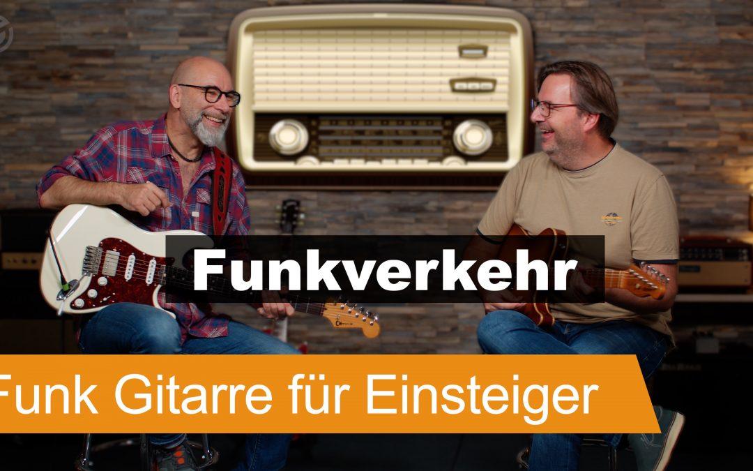 Funk Gitarre für Einsteiger: Basis Übung und 3 Beispiel Grooves – SUPERGAIN TV 137
