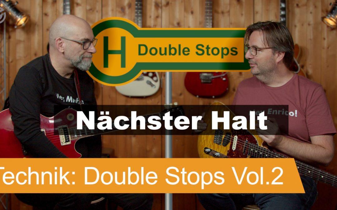 Double Stops Fills für Gitarre – Teil 2