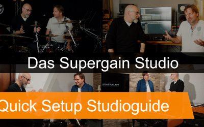 Equipment Tonstudio: Die SUPERGAIN Studiotour