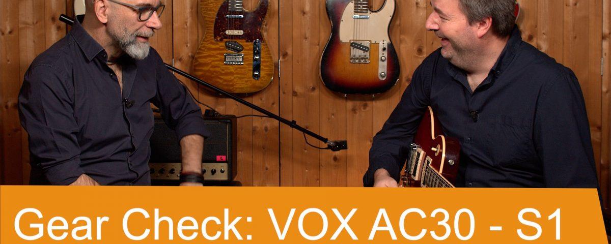 Gear Check: VOX AC30 S1 - SUPERGAIN TV 50