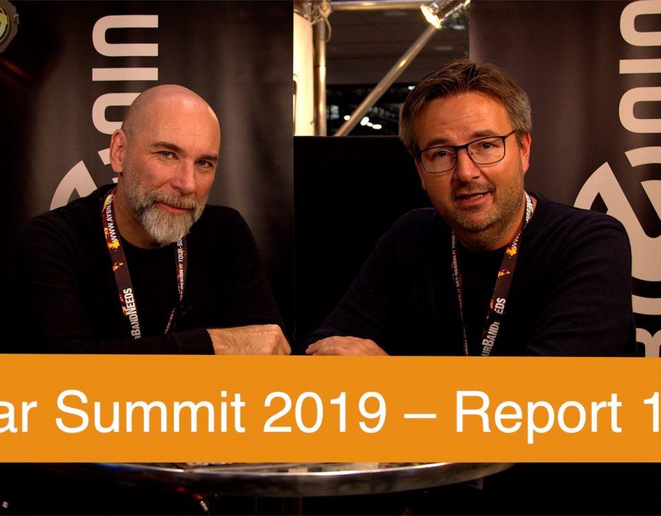 Guitar Summit 2019 in Mannheim - Hier der erste SUPERGAIN TV Teil unserer Eindrücke: La Roqua Cabs, Captain Guitar Lounge, Gamble Guitars, Steyner Straps.