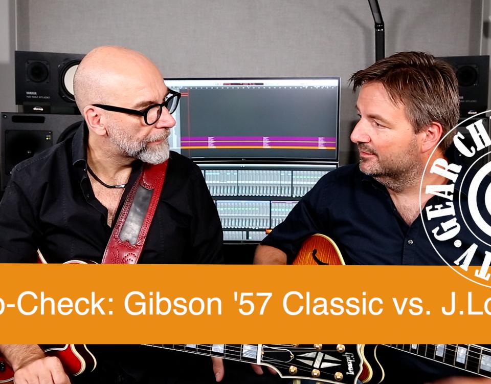 SUPERGAIN TV 24: Gibson CS 356 Pickup Check - Gibson Classic 57 und Lollar Imperial Humbucker