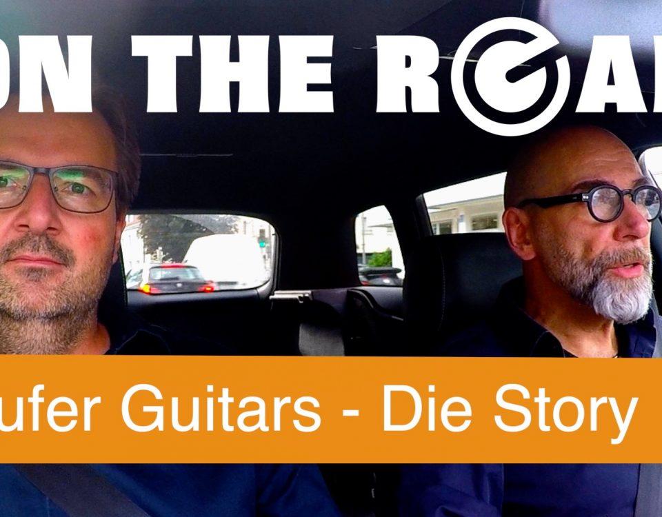 Supergain on the road Stufen Guitars