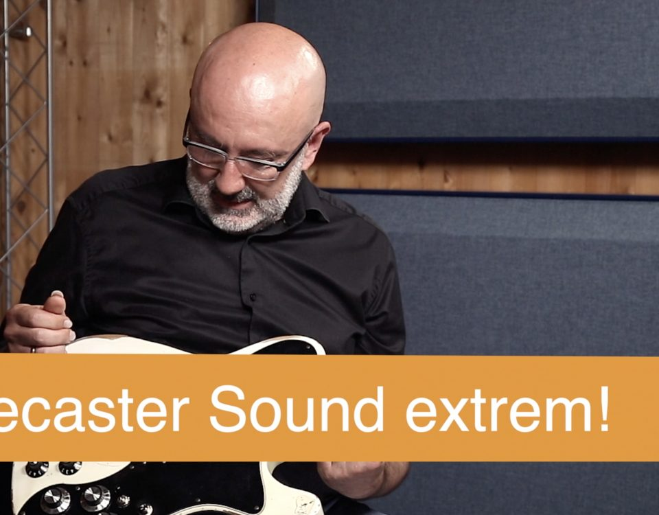 Fender Telecaster Deluxe mod